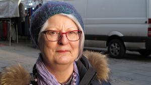 """Marguerite Toll, 68, pensionär, Rönninge: – Jag säger som grannens unge, """"blir det jul om det inte är någon snö""""?"""