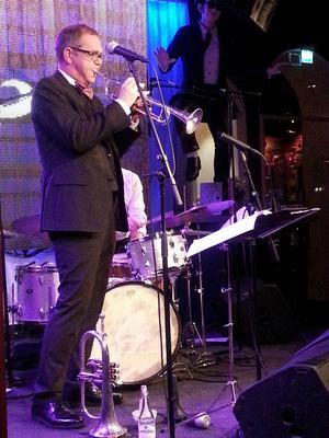 Trumpetaren Mårten Lundgren har en diger meritlista.