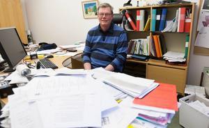 Energirådgivare Åke Möhring är en efterfrågad person under öppet-hus-kvällarna.