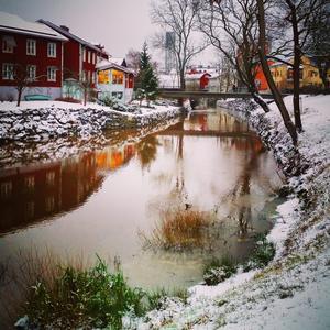 Västerås Svartån. Foto: Hanna Alexandersson