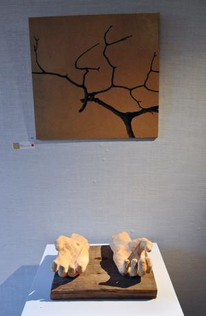 Patric Engfeldt, från Stora Skedvi, har gjort skulpturen