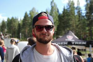 Huvudarrangören Alexander Bäckvall var väldigt nöjd med helgen i Alfta Bike Park.
