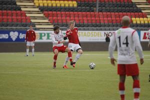 Nyförvärvet från IFK Luleå, Tom Perman, kom in på innermittfältet i andra halvlek.