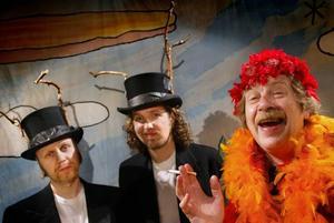 Vilse i pannkakan 2002. Staffan Westerberg i en retrouppsättning på Teater Brunnsgatan Fyra.