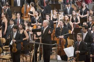 West-Eastern Divan Orchestra med Daniel Barenboim.