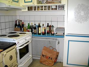 Köket innan den totala omgörningen...