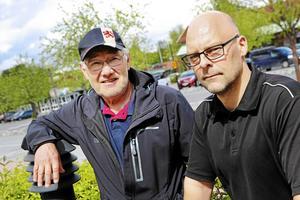 Staffan Brandelius och Lars-Johan Sund från Storsjö fiskevårdsförening har ägnat mycket tid och kraft för att få till stånd en handikappanpassad fiskeplats i Väster-Rotsjön. I helgen invigdes fiskeplatsen.