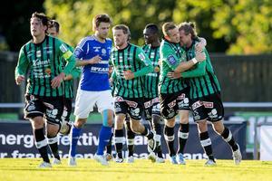 Varberg fick jubla hemma på Påskbergsvallen. Det fick inte GIF Sundsvalls Daniel Sliper. Eller inhopparen Leo Englund som fick göra debut i Superettan i matchens slutminuter,