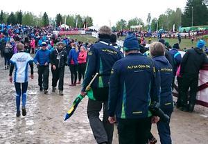 Alfta ÖSA:s herrar sprang in på 271:a plats i Tiomila.