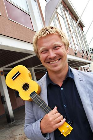 Kulturskolan jobbar brett – och den lilla ukulelen har en viss betydelse i sammanhanget, konstaterar Kulturskolans chef Michael Brask.