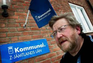 – Det är befängt med frysta löner, anser Jan-Erik Eriksson, Kommunal-Z i Berg.Foto: Bengteric Gerhardsson