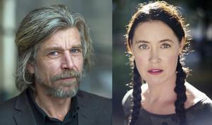 Karl-Ove Knausgård och Linda Boström Knausgård.