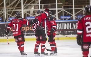 Hudik Hockey slog Tierp med 8–1.