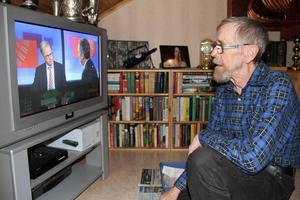 Tv:n är viktig för Ingvar Eriksson.