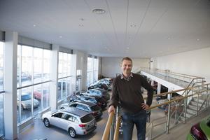 Thomas Sedin, försäljningschef på Berners.