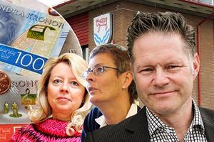 Birgitta Lundgren, Ulla Schill och Jonas Törngren toppar lönelistan.