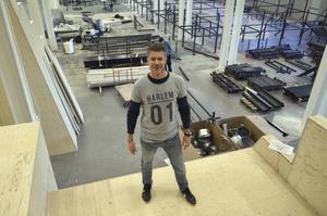 Ägaren Martin Frölander satsar stort i Sundsvall på den nya anläggningen.