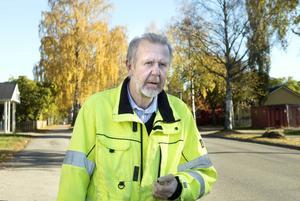 Tomas Häggström är sektionschef på stadsbyggnadskontorets parkavdelning.