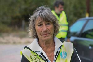 Susanna Jönsson från Civilförsvarsförbundet hjälpte till med söket.