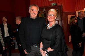 Hussborgs Katarina Dahl Nilsson kom i sällskap med maken Leif.
