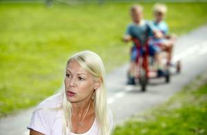 Viktigast. Zandra Ahkoila, chef för Lillånns förskolor, arbetar systematiskt med säkerheten. Foto: Lennart Lundkvist