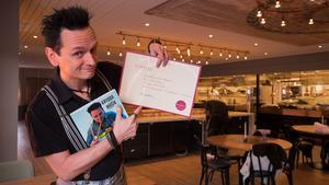 Per Samuelsson håller i den prisvinnande boken Krydda med Musik.