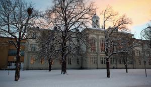 Landgrenskolan kan bli nedlagd om man väljer att satsa på en ny skola på campusområdet.