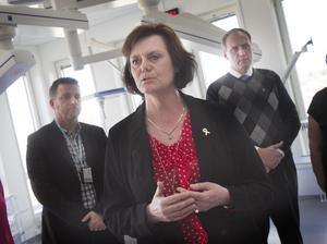 Hanna-Karin Linck (C) är övertygad om att USA-resorna kommer att innebära bättre och effektivare vård för invånarna i Gävleborg.