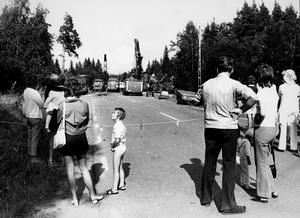 Tågkollisionen mellan Kolbäck och Munktorp 1972.