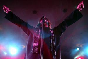 Ebbot sommaren 2003 på Yran med Soundtrack, i sommar är han tillbaka solo