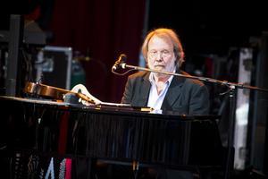 Kul att vara här igen, tyckte Benny Andersson, som spelade i Järvsö 1988.