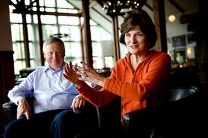Spencer och Valerie Oberle delade med sig av sina erfarenheter som chefer på Disney World i Orlando under en kurs på Romme Alpin.