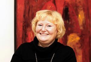 Hofors kommunalråd Marie-Louise Dangardt.arkivbild