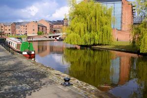 Kanalen i Manchester.