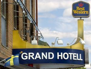 Grand hotell i Bollnäs.