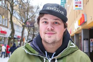 Erik Nordell, 28 år, Vålådalen: – Det är nog var och varannan dag. Det är åt allt möjligt. Man håller på och skämtar till det.