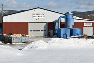 Trycket på torrved från Komponentprodukter i Arbrå är stort.