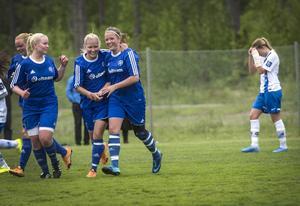 Med fem minuter kvar av ordinarie tid gjorde Amanda Hamrin 2–0 till Heffnersklubban borta mot serieledande Timrå.
