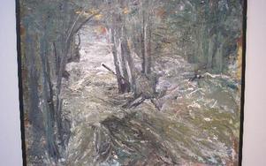 Vårflod. Verket tillhör Norrköpings konstmuseum.