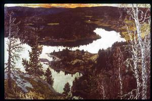 Helmer Osslund målade på smörpapper – en av orsakerna till att han fick erkännande så sent i livet.