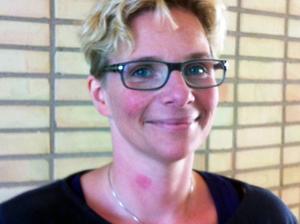 Marina Nilsson (C) tycker det är viktigt att kommunen inte ska ta någon ekonomisk risk i hallprojektet.