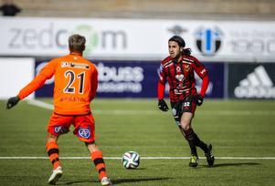 Brwa Nouri in action mot Varberg tidigare i våras.