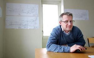 Per Torsell projektledare för ombyggnationen av stationsområdetFOTO: MIKAEL ERIKSSON