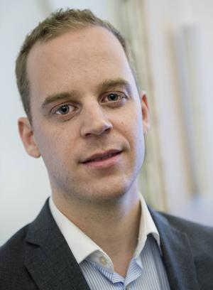 Sverigedemokraternas ungdomsförbunds ordförande Gustav Kasselstrand.