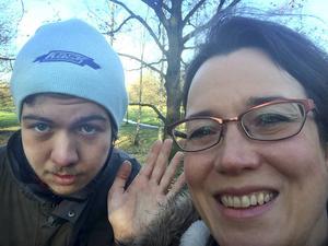 Hyde Park, december 2014. Fyra dagar i London var min studentpresent till Björn. Bara han och jag.