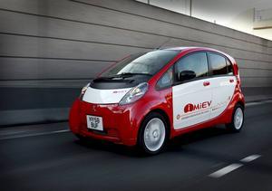 Bildtext 14: Mitsubishi i-MiEV.    Foto: Mitsubishi