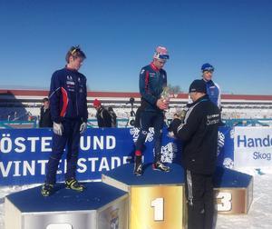 Jesper Persson vann USM-guld i sprint, distans och stafett under helgens skidskyttetävlingar.