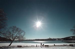 Den här veckan ska det bli normalt februariväder med sol.