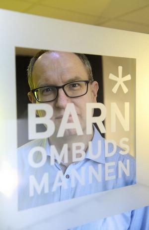Barnombudsmannen (BO) Fredrik Malmberg.