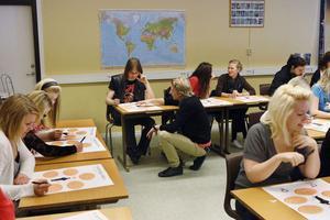 Eleverna får under dagen fundera över frågor som: Vad ska jag satsa på? Vilka jobb behövs? och Vilka utbildningar erbjuds?